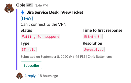 Use Slack as a helpdesk